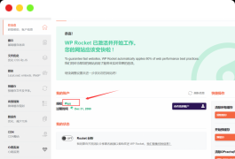 wordpress缓存插件WP rocket 优化神器最新3.9.3汉化破解版